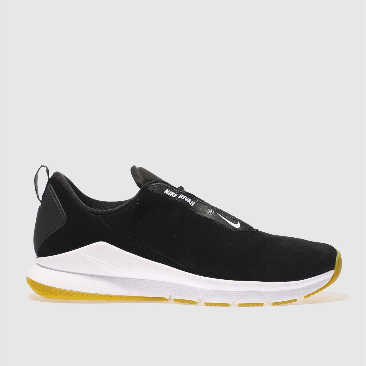 Nike Black & White Rivah Premium Trainers