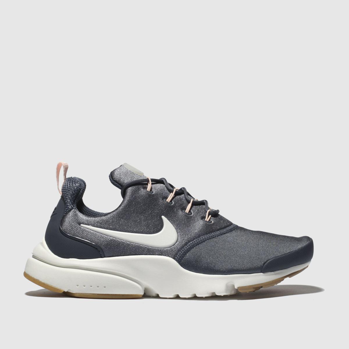Nike Grey Presto Fly Trainers
