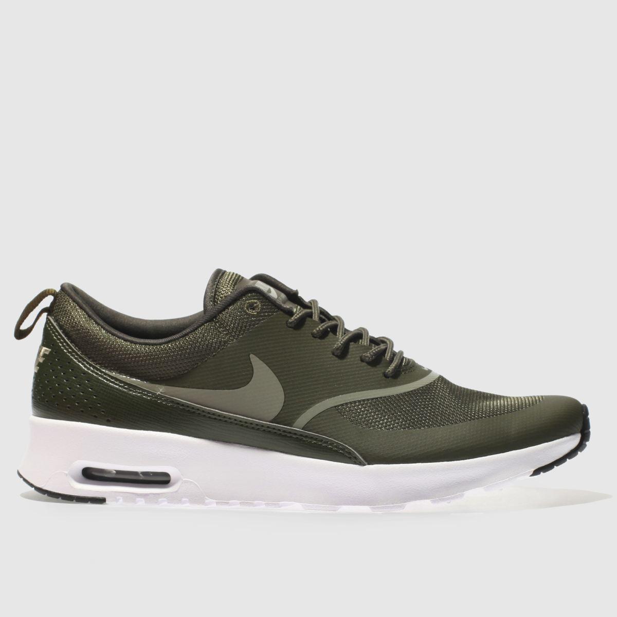 Nike Khaki Air Max Thea Trainers