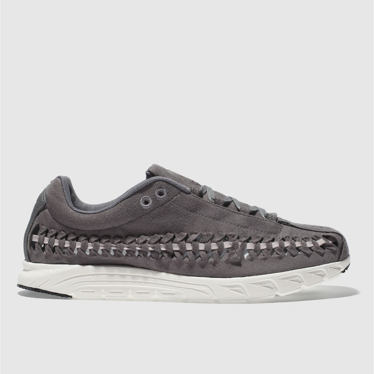 Nike Grey Mayfly Woven Trainers