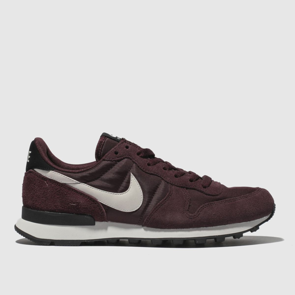 Nike Burgundy Internationalist Trainers
