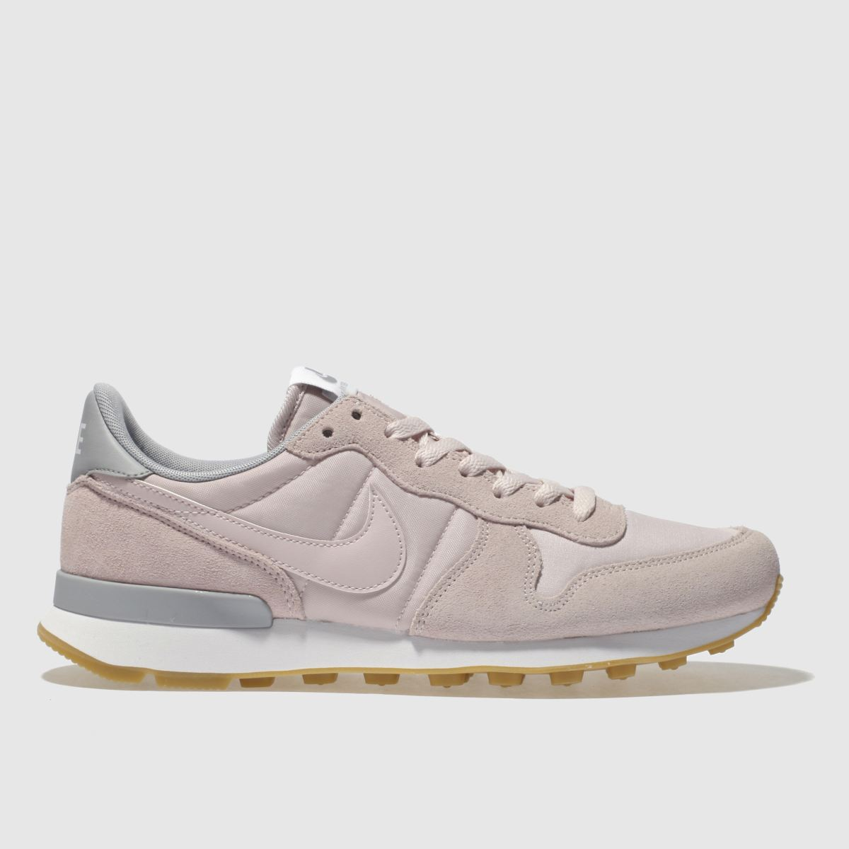 Nike Pale Pink Internationalist Trainers