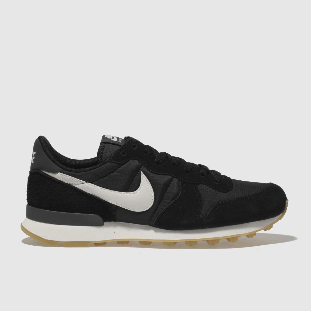 Nike Black & White Internationalist Trainers