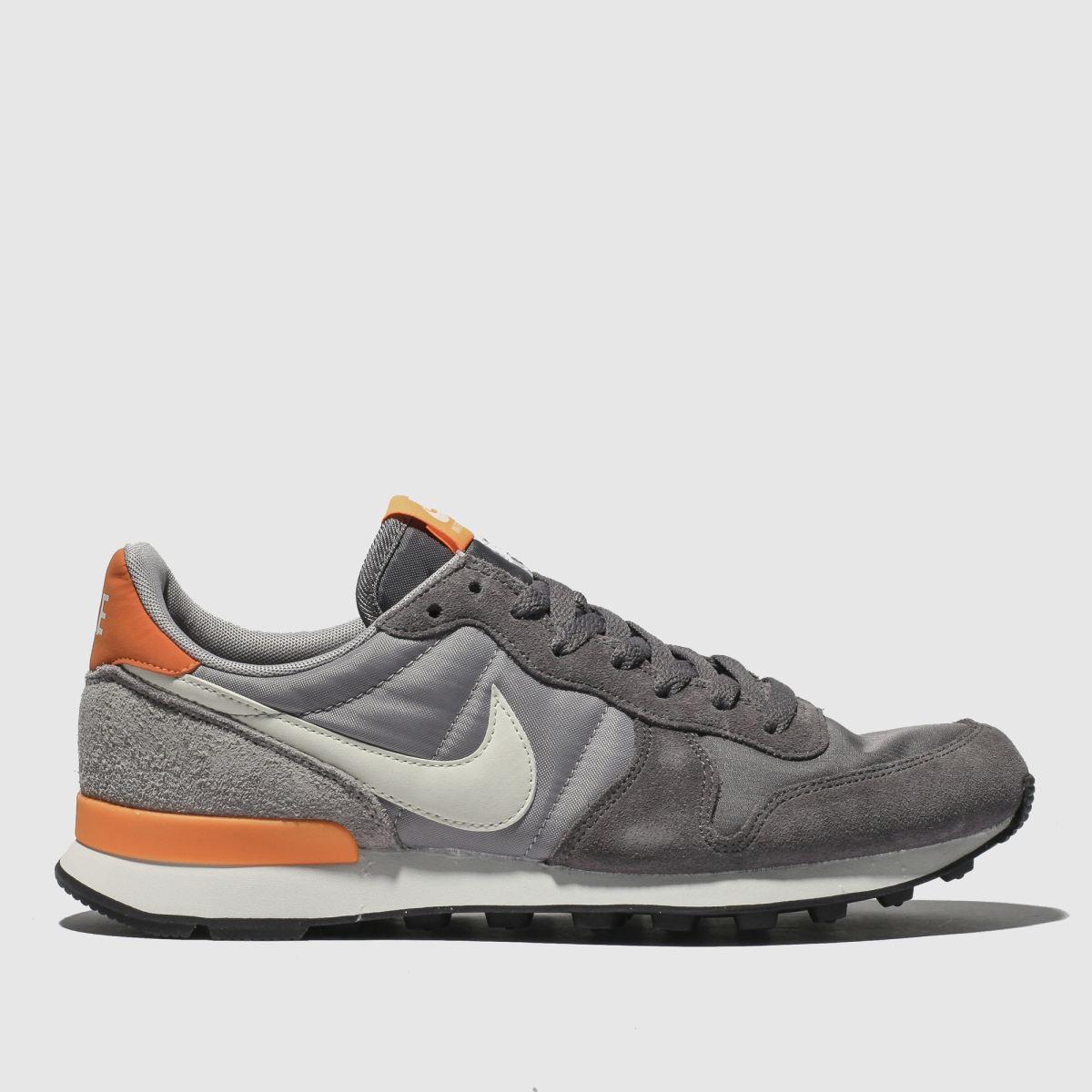Nike Grey Internationalist Trainers