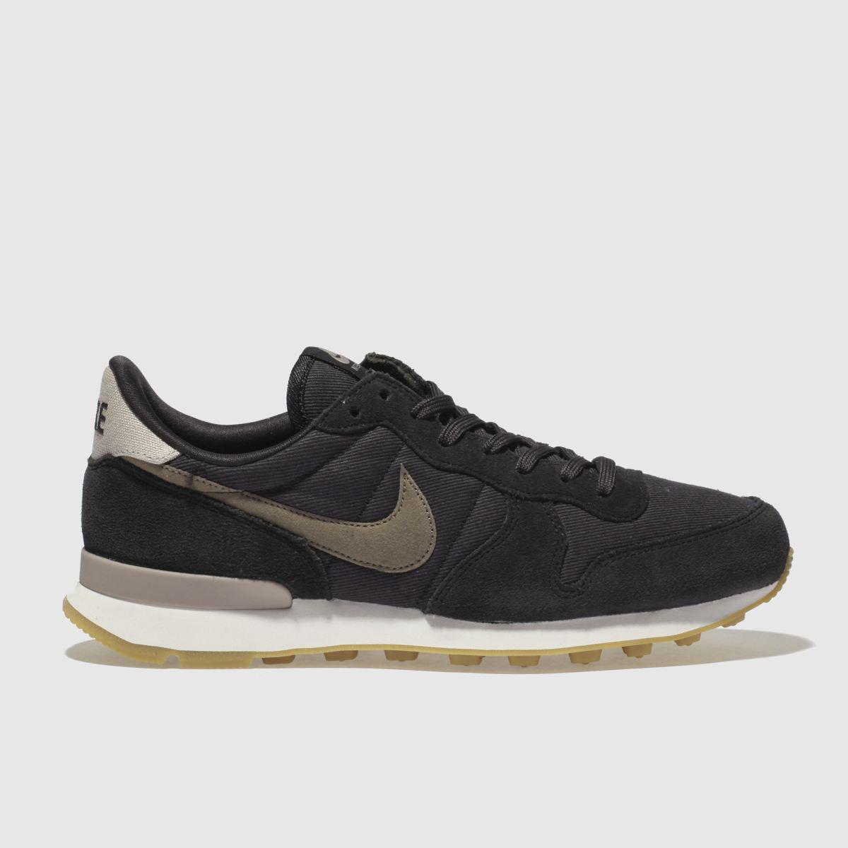 Nike Dark Grey Internationalist Se Trainers