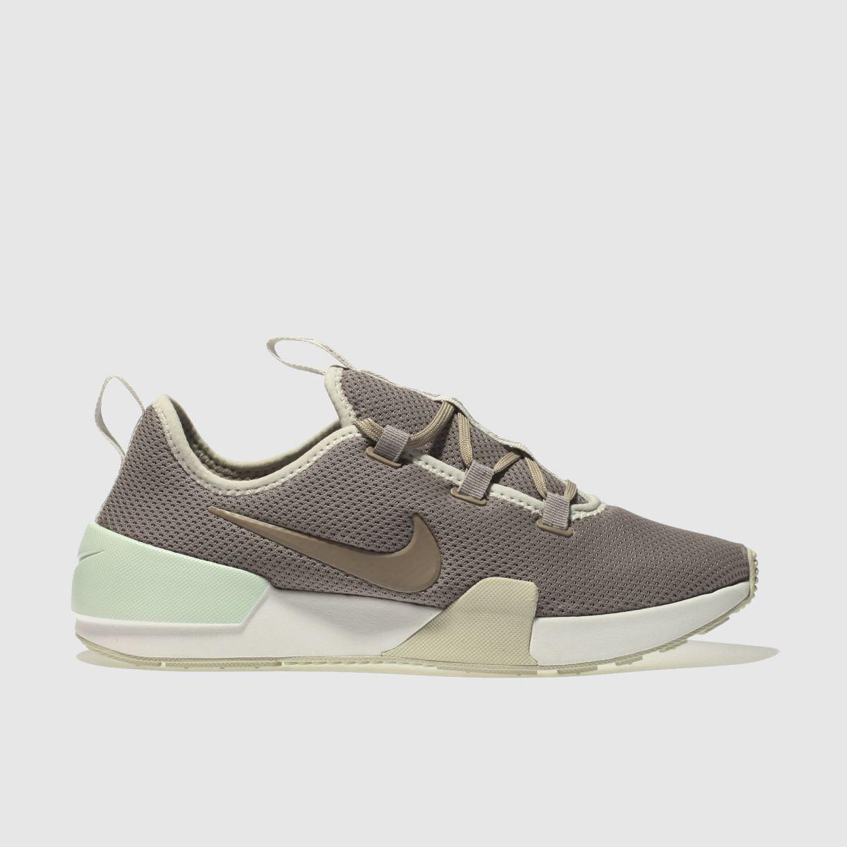 Nike Taupe Ashin Modern Trainers