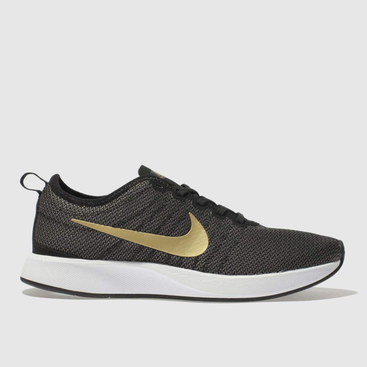 Nike Black & Gold Dualtone Racer Se Trainers