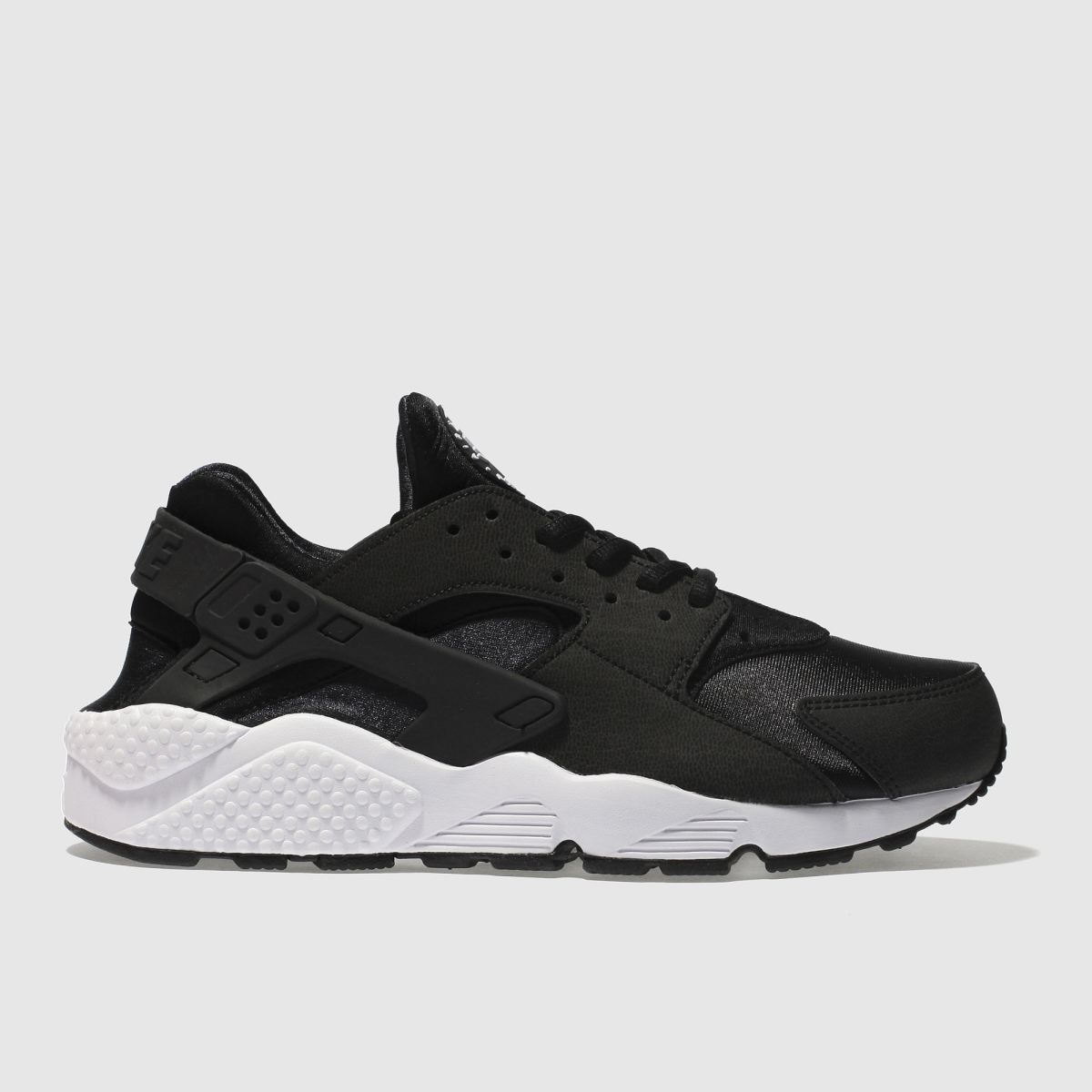 Nike Black & White Huarache Run Trainers