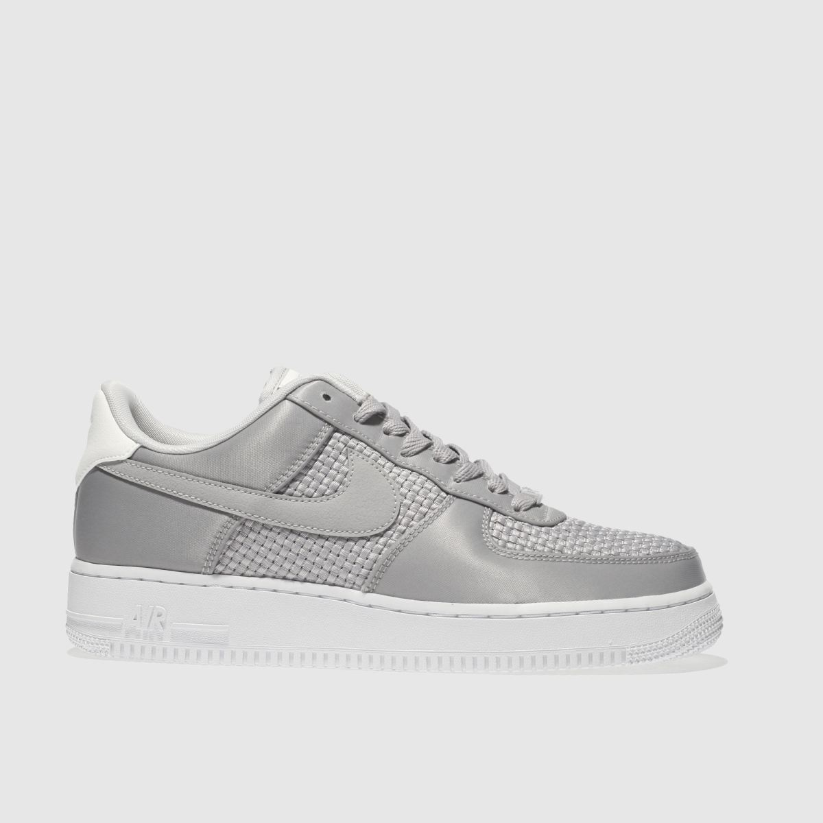 Nike Light Grey Air Force 1 07 Se Trainers