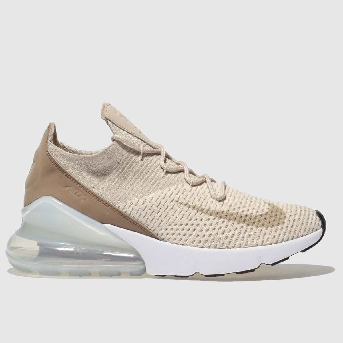 Nike Natural Air Max 270 Flyknit Trainers
