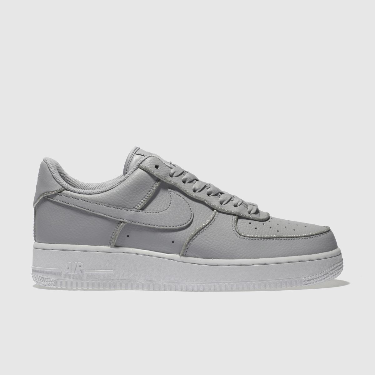 Nike Grey Air Force 1 Lo Trainers