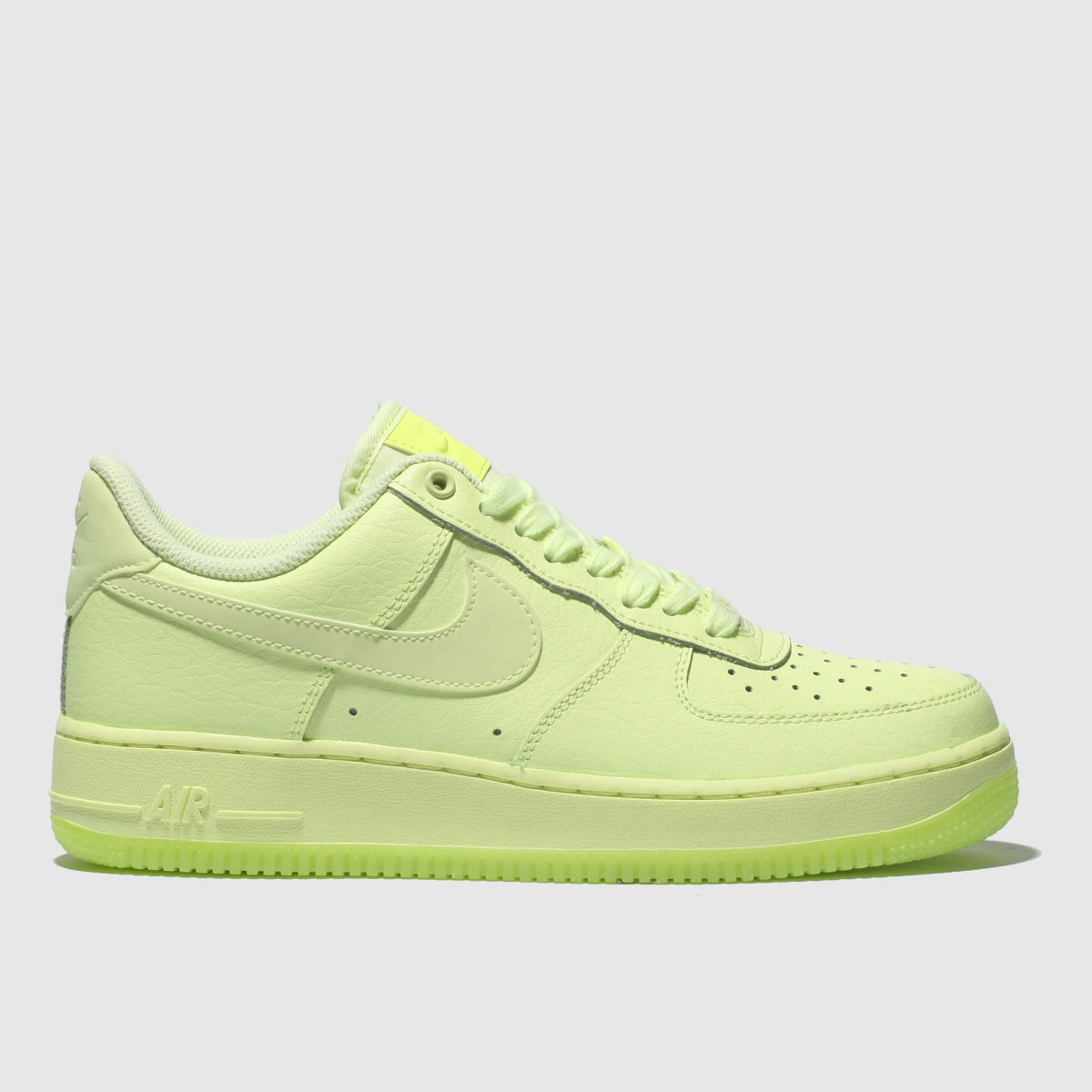 Nike Green Air Force 1 07 Essential Trainers