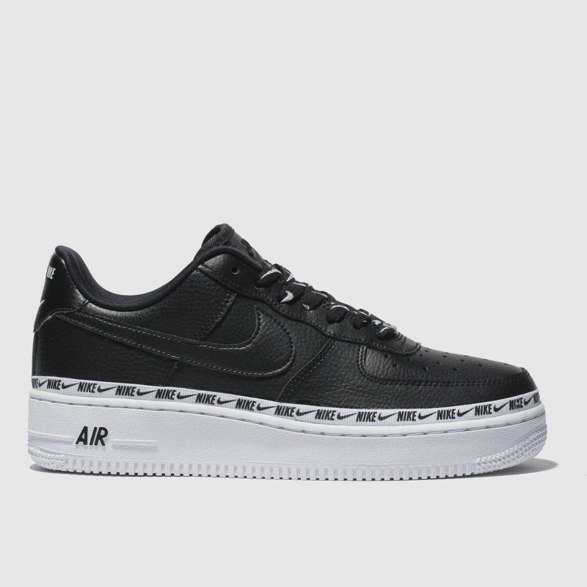 Nike Black Air Force 1 07 Se Premium Trainers