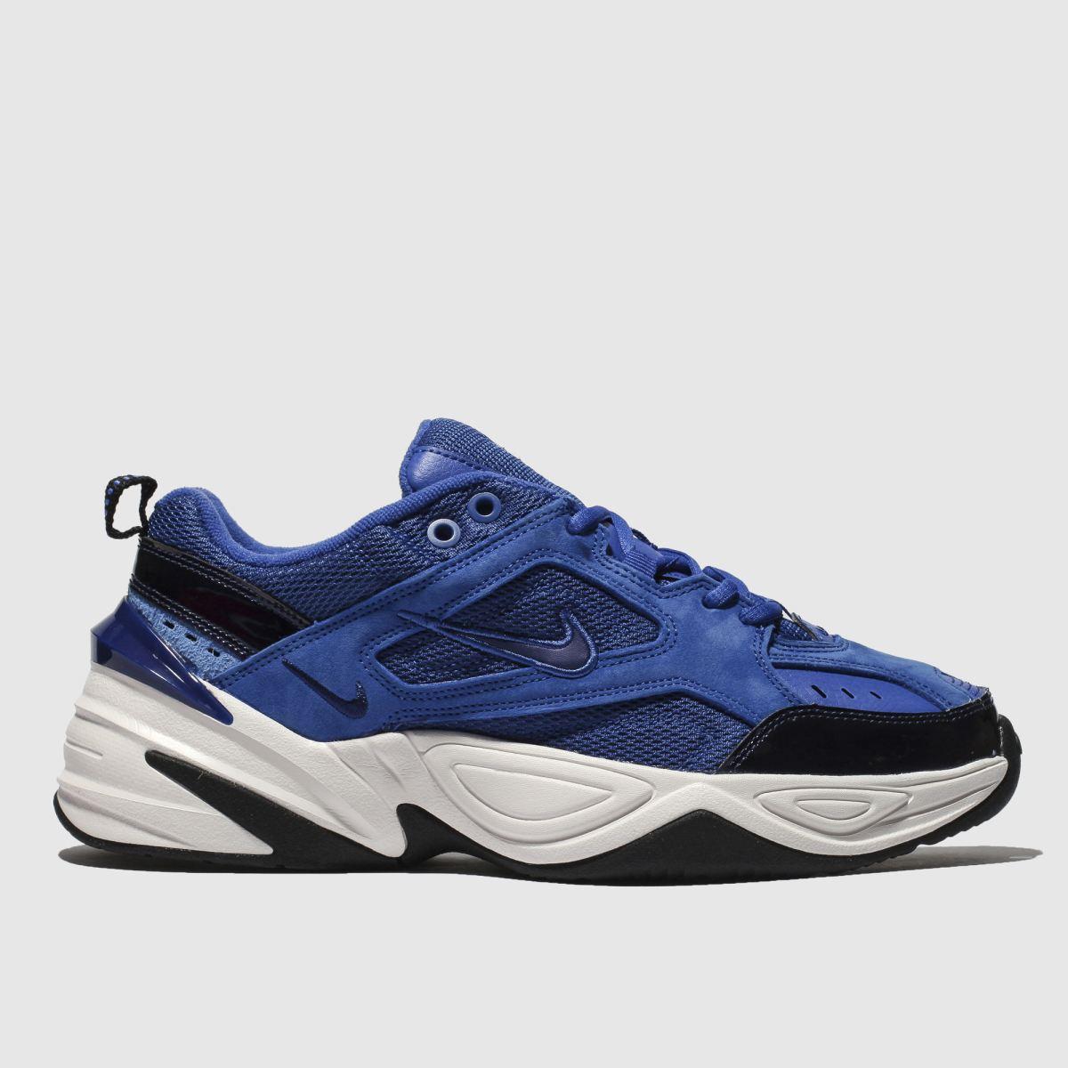 Nike Blue M2k Tekno Trainers