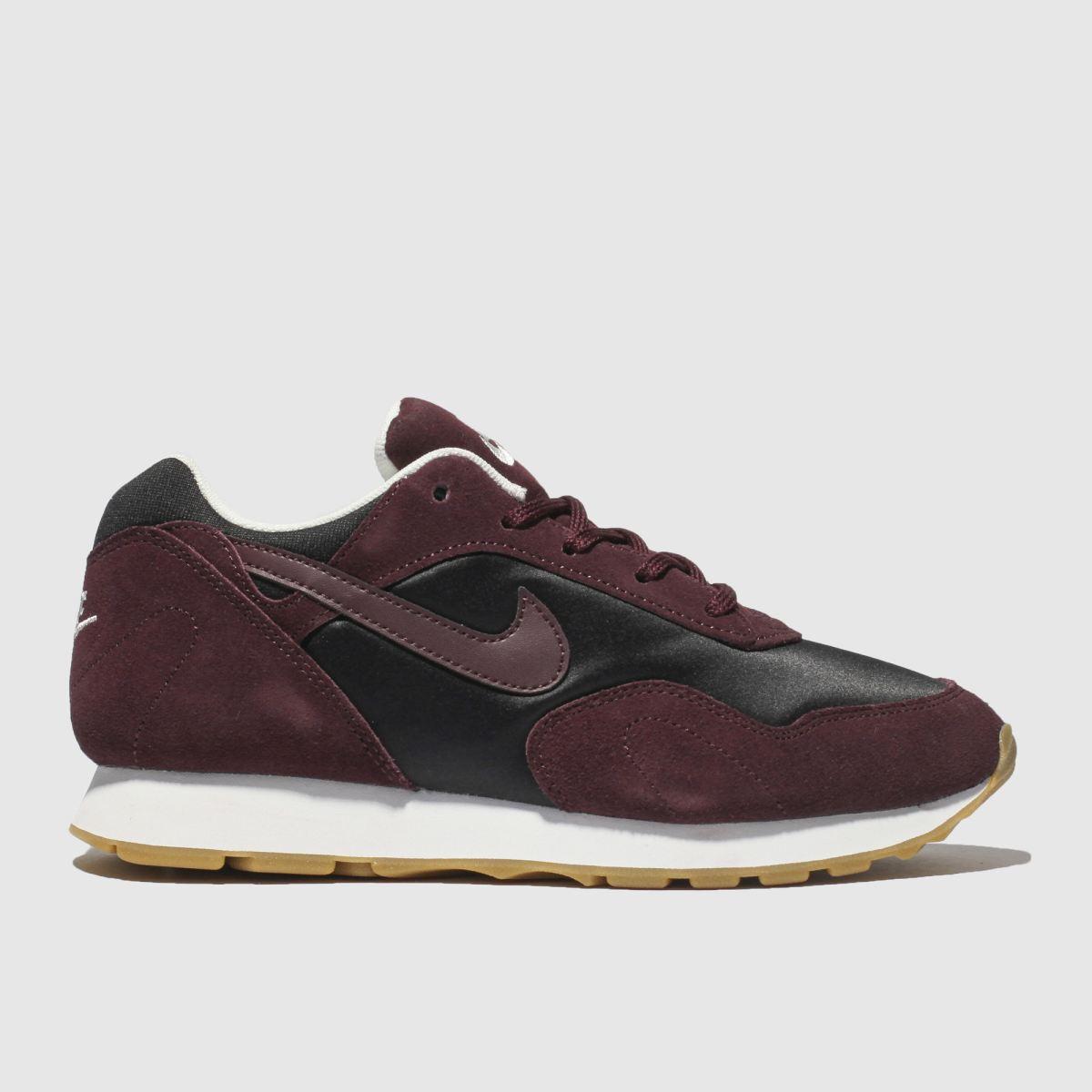 Nike Burgundy Outburst Trainers