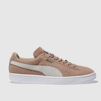 Puma Pink Suede Classic Womens Trainers
