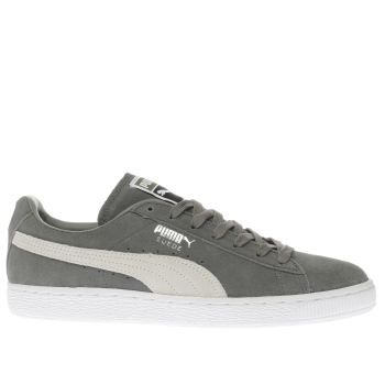 Puma Agave Green SUEDE CLASSIC Trainers