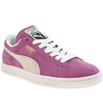 Puma Pink Suede Classic Trainers