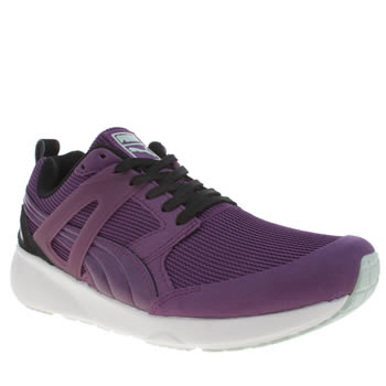 Womens Puma Purple Aril Basic Sport Trainers