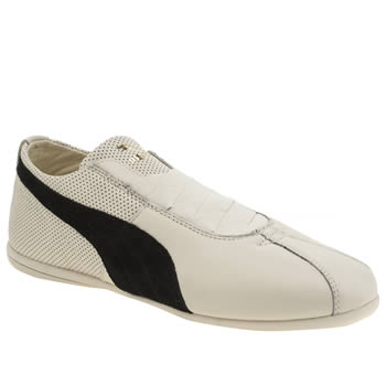 Puma White & Black Rihanna Boxing Eskiva Low Trainers