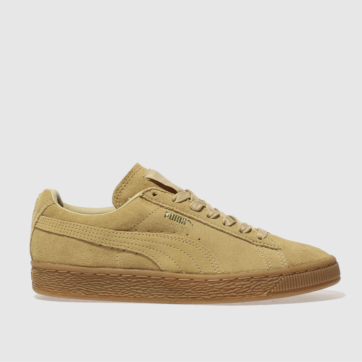 Beige Suede Shoes Womens