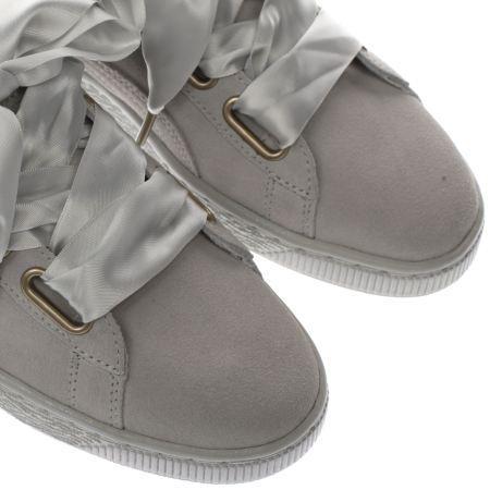 Puma Heart Suede Grey