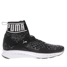 Puma Black & Grey Ignite Evoknit Womens Trainers