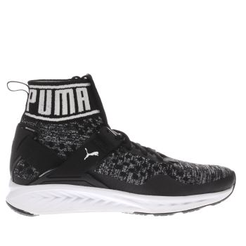 Puma Black Ignite Evoknit Womens Trainers