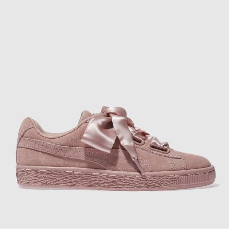 puma basket heart satin ii 1