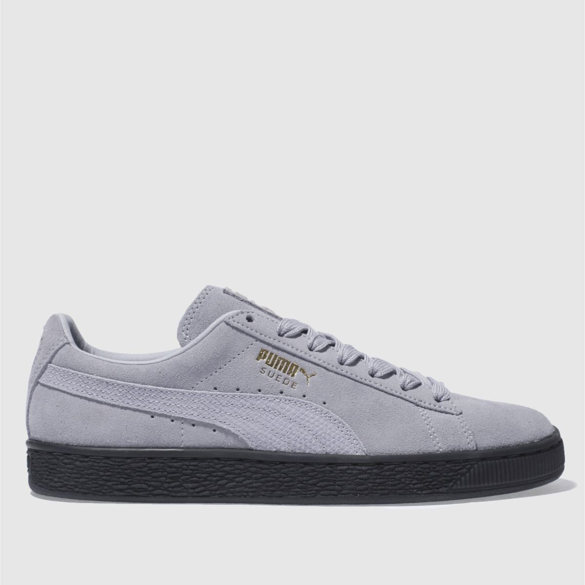 Puma Pale Lilac Suede Animal Trainers