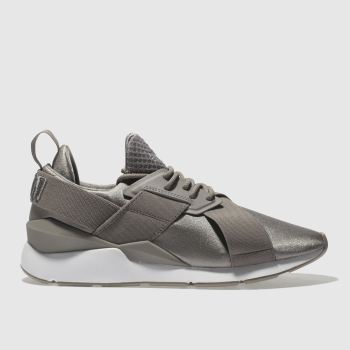 Puma Grey Muse Womens Trainers