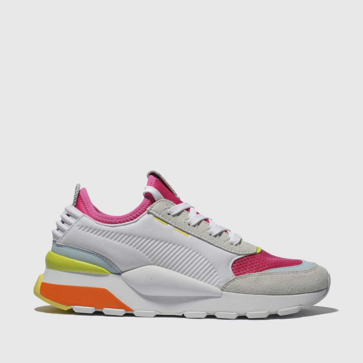 Puma White & Pink Rs-0 Winter Inj Toys Trainers