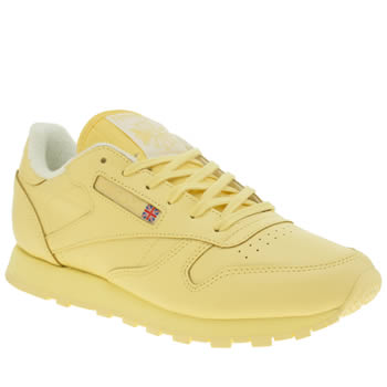 Reebok Lemon Classic Leather Trainers