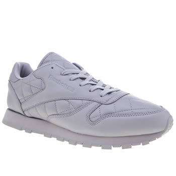 REEBOK LILAC CLASSIC LEATHER TRAINERS