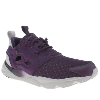 Reebok Purple Furylite Sheer Trainers