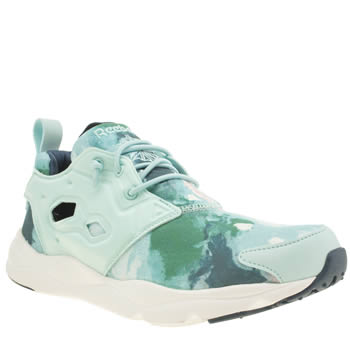 Reebok Pale Blue Furylite Watercolour Trainers