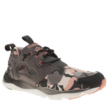 Reebok Dark Grey Furylite Candy Girl Trainers