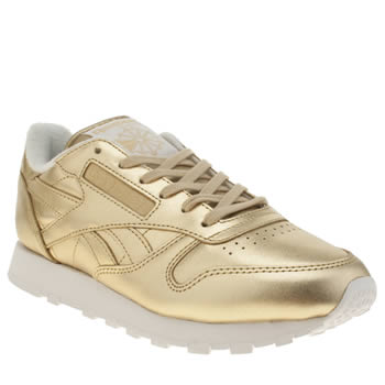 Reebok Gold Classic Leather Spirit Trainers