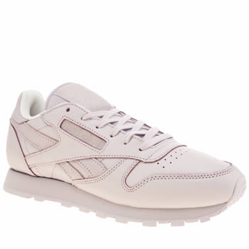 Reebok Lilac Classic Leather Spirit Trainers
