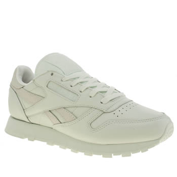 Reebok Light Green Classic Leather Spirit Womens Trainers