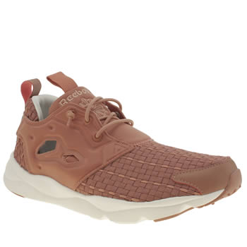 Reebok Pale Pink Rbk Furylite New Woven Trainers