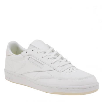 Reebok White Club C 85 Trainers