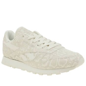 Reebok Stone Classic Snake Womens Trainers