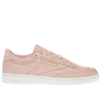 Reebok Pale Pink Club C Nude Womens Trainers