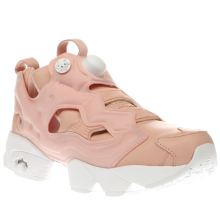 Reebok Pale Pink Instapump Fury X Face Trainers