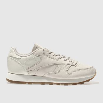 Reebok Natural Classic Leather Womens Trainers
