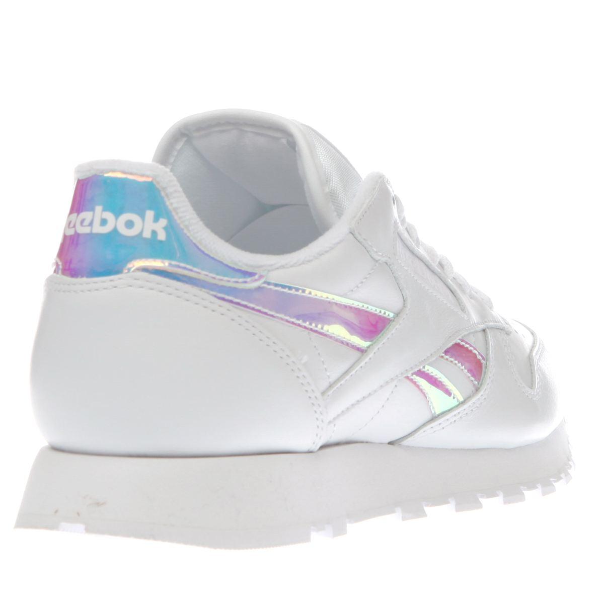pink reebok trainers
