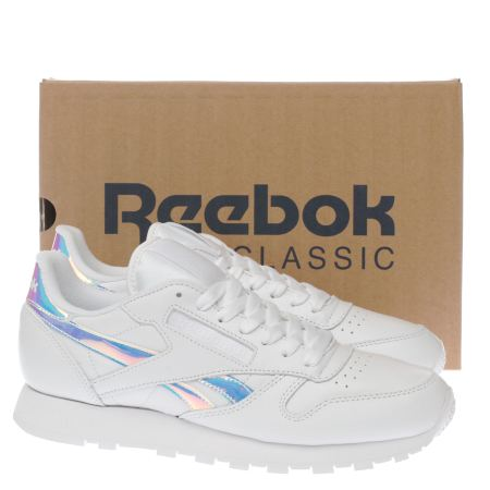 Review Classic 4ae1a Sneaker Reebok Yellow Leather C413d Iridescent vqzHwwnO