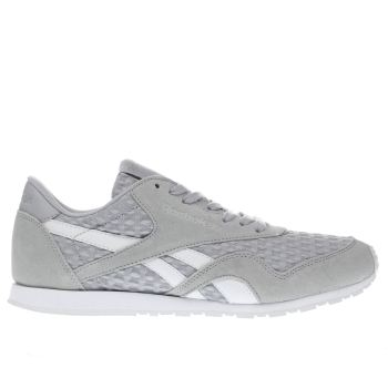 Reebok Light Grey Classic Nylon Slim Womens Trainers