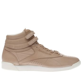 Reebok Natural Freestyle Hi 35 Womens Trainers